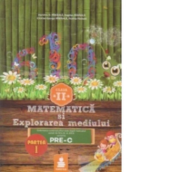 Matematica si explorarea mediului clasa a II-a partea I PRE-C