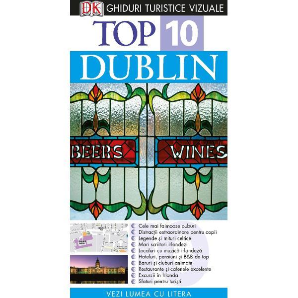 Oricum a&539;i c&259;l&259;tori la clasa &238;nt&226;i sau cu buget limitat acest Ghid Turistic Vizual v&259; conduce spre minunatele locuri pe care vi le pot oferi Dublinul &537;i IrlandaListele diferite de Top 10 de la cele mai bune locuri unde pute&539;i asculta muzic&259; irlandez&259; la distrac&539;iil pentru copii &537;i hoteluri excelente v&259; furnizeaz&259; toate informa&539;iile necesare Iar pentru a v&259; economisi timpul &537;i banii v&259; prezent&259;m