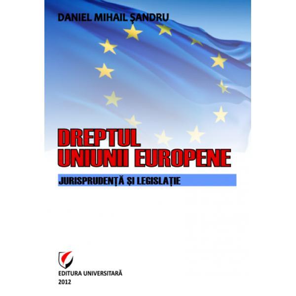 Prezentul curs universitar grefat pe cercetarea doctorala publicata anterior surprinde o parte din evolu&355;ia &351;i actualitatea dreptului Uniunii Europene Am încercat s&259; sistematiz&259;m principalele institu&355;ii &351;i concepte ale dreptului unional în special am pus accentul pe rolul Cur&355;ii de Justi&355;ie a Uniunii Europene f&259;când trimitere la jurispruden&355;a pertinent&259; Am utilizat o mic&259; parte din bibliografia dedicat&259;