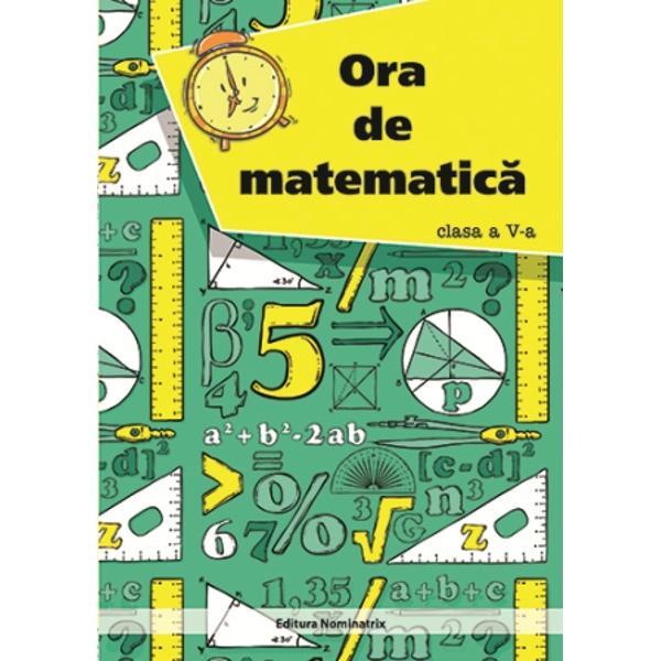 Ora de matematica clasa a V a