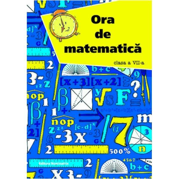 Ora de matematica clasa a VII a