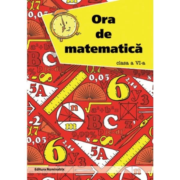 Ora de matematica clasa a VI a