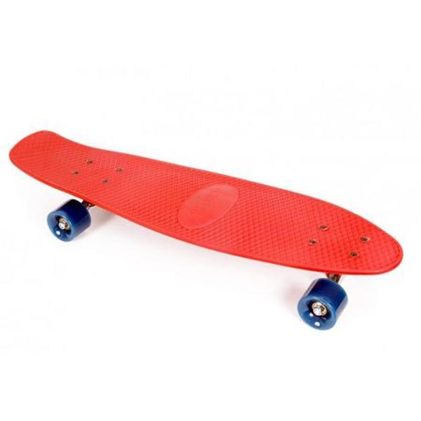 Skateboard Lightning A46075 Maxtar 71 cm rosu din matarial plastic turnatDetalii produsMarca Maxtar;br