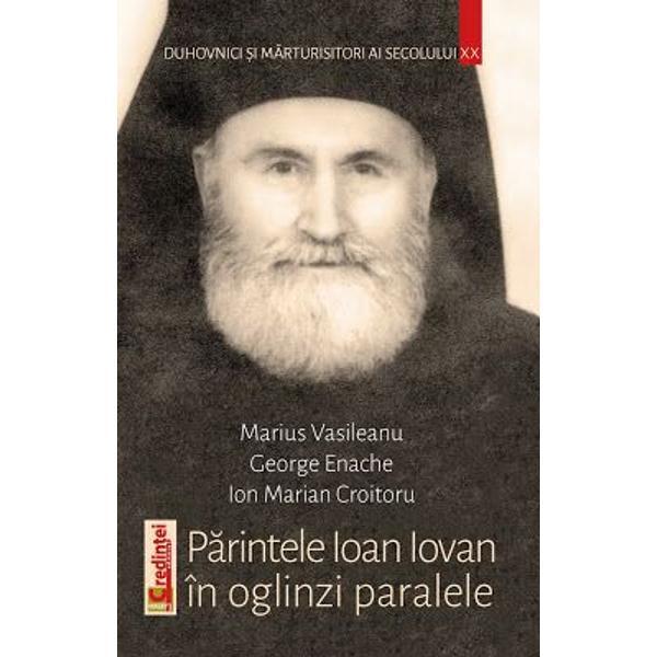 Cartea de fa&355;&259; reprezint&259; un portret în oglinzi paralele al unuia dintre marii duhovnici &351;i m&259;rturisitori români ai secolului XX p&259;rintele Ioan Iovan 1922-2008 duhovnicul vechii ob&351;ti a Vladimire&351;tilor cel ce a supravie&355;uit prigoanelor comuniste &351;i a trecut apoteotic la cele ve&351;nice în vatra m&259;n&259;stireasc&259; de la Recea Cei trei autori - Marius Vasileanu antropolog George Enache istoric &351;i