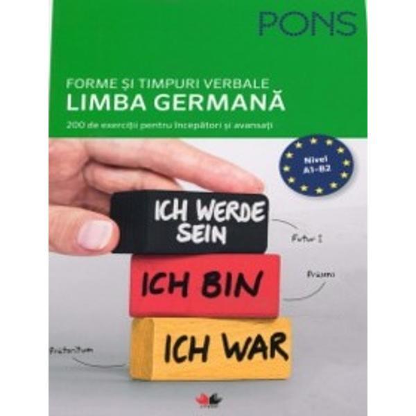 Nu mai pierde timpul Exerseaza formele verbelor si folosirea corecta a acestora in limba germanaExerseaza toate temele importante referitoare la verbe timpuri si moduriAlege exercitiile care se potrivesc cu nivelul tau de cunoastere a limbi germane de la A1 incepatori pana la B2 avansatiInvata la fiecare tema cele mai importante notiuni de vocabular