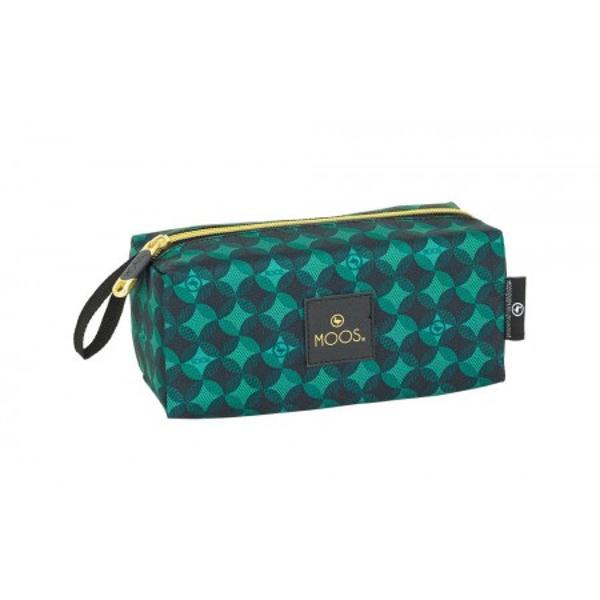 Geanta accesorii Moos Verde 19cm o geanta de accesorii in culorii vii pentru o mai buna organizare a accesoriilor tale&160;