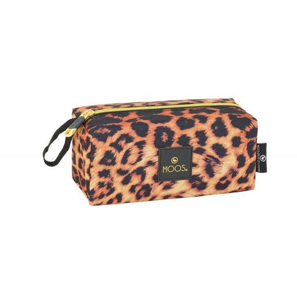Geanta accesorii Moos Animal Print 19cm&160;o geanta de accesorii in trend pentru tine si pentru organizarea accesoriilor in calatorii sau la tine acasa&160;
