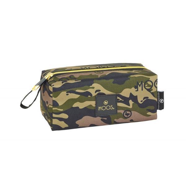 Geanta accesorii Moos Army 19cm geanta practica si eleganta pentru accesoriile tale Alege din timp cele mai practice genti pentru calatorii sau pentru pastrarea accesorilor de acasa&160;