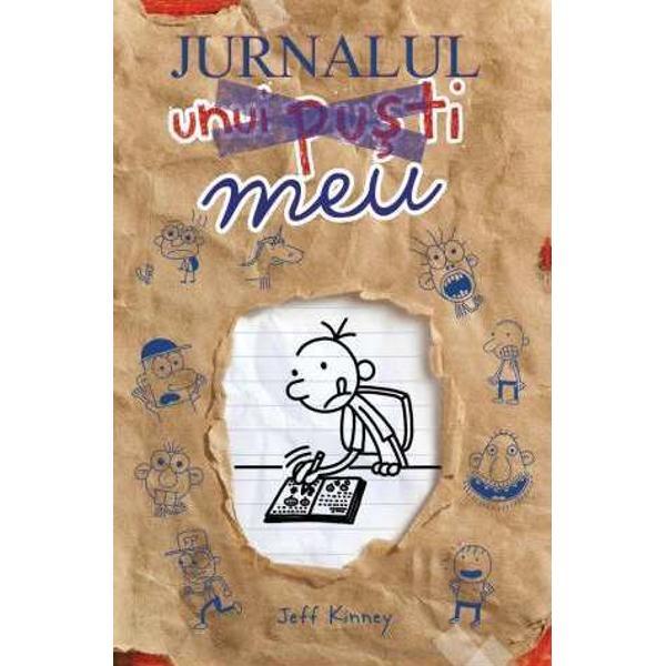 """""""În primul rând s&259; ne l&259;murim acesta este un JURNAL nu un jurnal intimJurnalul unui pu&351;tiî&355;i d&259; ocazia s&259; fii autor ilustrator &351;i personaj principal Cu o mul&355;ime de pagini interactive dar"""