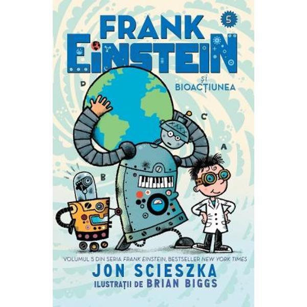 """""""N-a&537; fi crezut niciodat&259; c&259; &537;tiin&539;a poate fi atât de amuzant&259; pân&259; când am citit Frank Einstein Copiii se vor distra pe cinste – Jeff Kinney autorul bestsellerului Jurnalul unui pu&537;ti""""Hohote de râs &537;i teorii &537;tiin&539;ifice foarte interesante – toate fac din Jon Scieszka o legend&259; – Mac Barnett autorul c&259;r&539;ilor Battle Bunny &537;i Cei doi"""