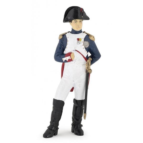 Napoleon - Figurina PapoJucaria&160;Napoleon este o figurina pictata manual ce poate fi adaugata la setul de jucarii din colectia Papo-Personaje istoriceFigurina&160;Napoleon reprezinta cunoscutul personaj istoric fost un lider politic &537;i militar al Fran&539;ei care a influen&539;at puternic politica european&259; de la &238;nceputul secolului al XIX-leaDimensiune35x2x10 cm;Varsta 3