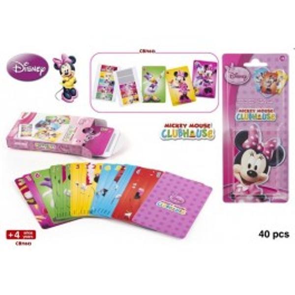 Carti de joc pentru copii MinnieCarti de joc pentru copii Minnie - set-ul contine 40 de carti fiecare fiind imprimata cu indragitul personaj Disney Minnie MouseDimensiuni10x225x15cm