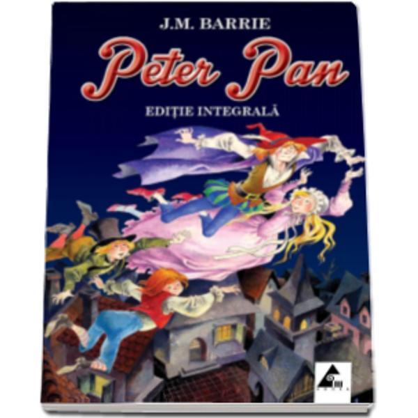 """Aventurile captivante ale lui Peter Pan baietelul care cu indaratnicie refuza sa creasca zboara si isi petrece copilaria fara sfarsit pe o insula miraculoasa alaturi de baietii pierduti"""" in compania zanelor sirenelor piratilor si indienilor sunt deja celebre in toata lumea  Dar cum poti face sa ajungi pe acea insula atat de indepartata Tara Niciunde"""