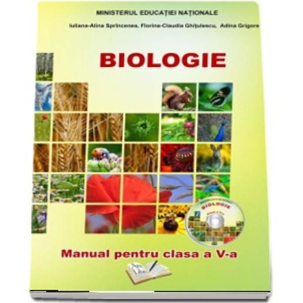 Manual biologie clasa a V a  CD