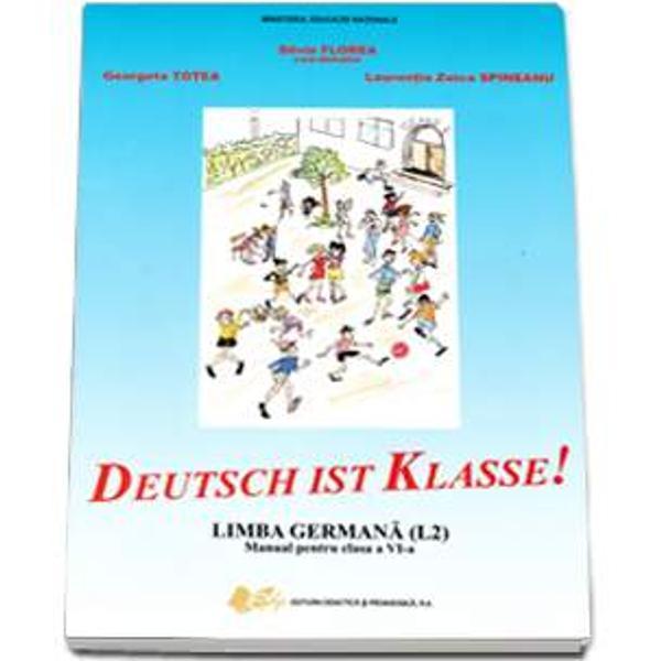 Manual de limba germana clasa a VI a L2 editia 2017 Deutsch ist Klasse