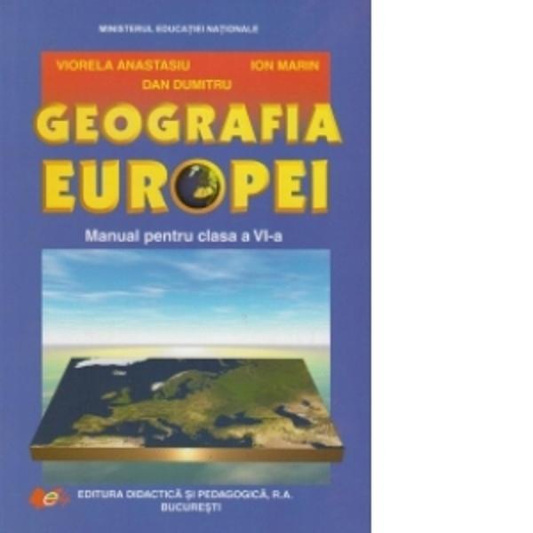 Manual de geografie clasa a VI a editia 2017
