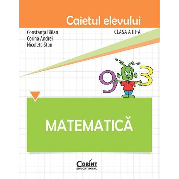 Matematica caiet elev clasa a III a BalanAutoarele acestei lucr&259;ri au elaborat manualulMatematic&259; pentru clasa a III-acare a îndeplinit criteriile tehnice de calitate la licita&355;ia de manuale &351;colare organizat&259; de MECS în anul 2015p stylecolor 2c2b2b; padding-top 6px; padding-bottom