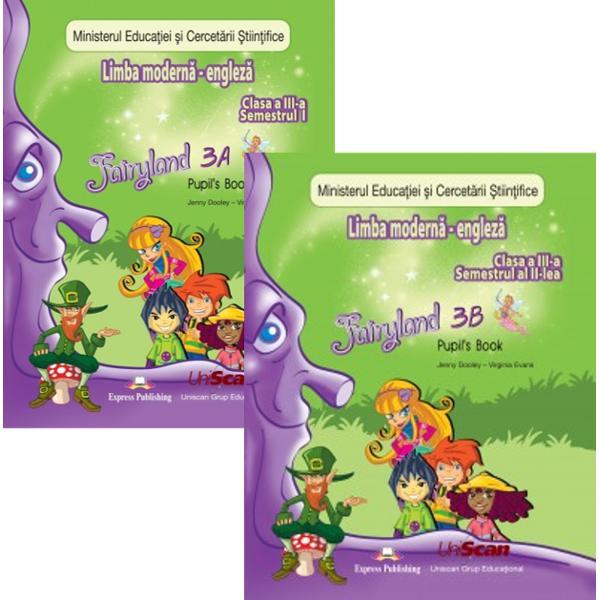 Fairyland Comunicare in limba moderna 1 Limba engleza clasa a III a partea I
