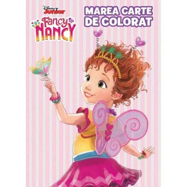 Descoper&259; aventurile noii voastre prietene Nancy Fancy Clancy o fat&259; obi&537;nuit&259; care viseaz&259; s&259; fie elegant&259;&160; in aceast&259; minunat&259; carte de colorat si activita&539;i