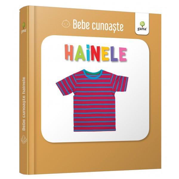 Util&259; pentru a-i înv&259;&539;a pe bebelu&537;i cuvinte noi cartea prezint&259; zece obiecte vestimentare care pot face parte din garderoba lor Este cartonat&259; integral u&537;or de apucat &537;i rezistent&259; la r&259;sfoireSeria Bebe cunoa&537;te este dedicat&259; copiilor de vârst&259; mic&259; afla&539;i la primele interac&539;iuni cu cartea No&539;iunile sunt prezentate în
