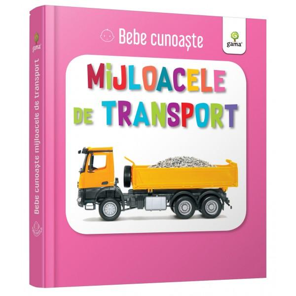 Util&259; pentru a-i înv&259;&539;a pe bebelu&537;i cuvinte noi cartea prezint&259; zece mijloace de transport Este cartonat&259; integral u&537;or de apucat &537;i rezistent&259; la r&259;sfoireSeria Bebe cunoa&537;te este dedicat&259; copiilor de vârst&259; mic&259; afla&539;i la primele interac&539;iuni cu cartea No&539;iunile sunt prezentate în perechi u&537;or de asociat în