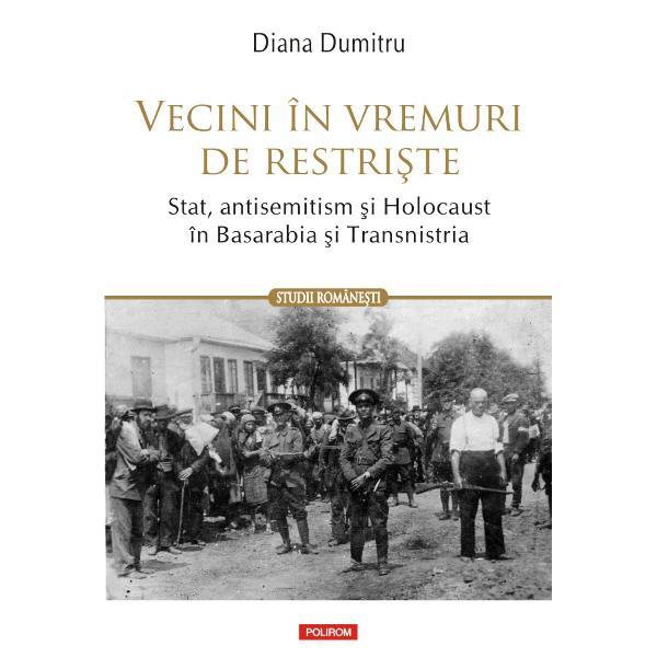 Pe baza a numeroase documente de arhiv&259; &351;i m&259;rturii orale volumul ofer&259; o nou&259; abordare a Holocaustului din Basarabia &351;i Transnistria mai pu&355;in cunoscut decît cel din Polonia sau din &355;&259;rile baltice Comparînd implicarea civililor în jefuirea denun&355;area &351;i uciderea evreilor locali sau deporta&355;i aici în urma atacului trupelor germane &351;i române asupra Uniunii Sovietice în vara anului 1941