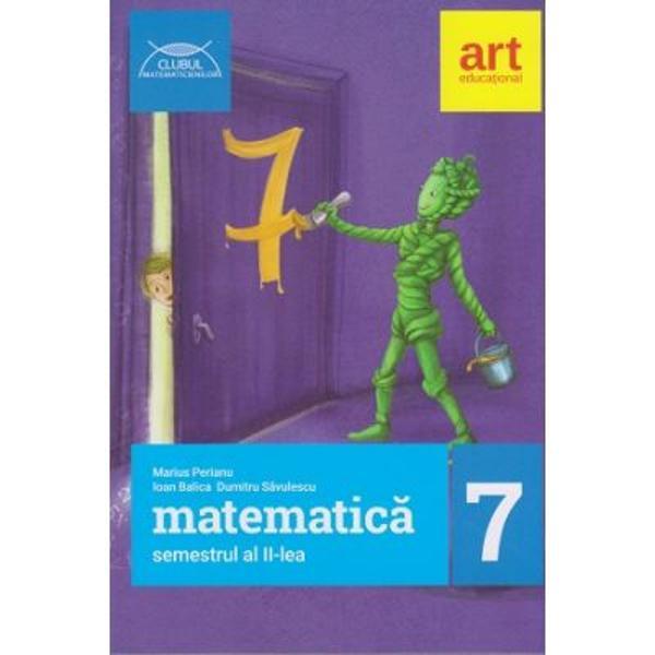 Culegere de matematica clasa a VII a semestrul al II lea clubul matematicienilor