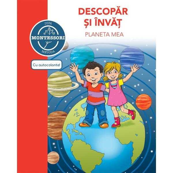 Activit&259;&539;ile din carte se bazeaz&259; pe metoda Montessori cunoscut&259; în toat&259; lumea Aceast&259; abordare &537;i-a dovedit eficien&539;a în dezvoltarea stimei de sine autonomiei &537;i creativit&259;&539;ii copilului Într-un context pedagogic pl&259;cut aceast&259; carte este o veritabil&259; surs&259; de activit&259;&539;i juc&259;u&537;e &537;i jocuri palpitante Copiii cu vârste cuprinse între 5 &537;i 8ani
