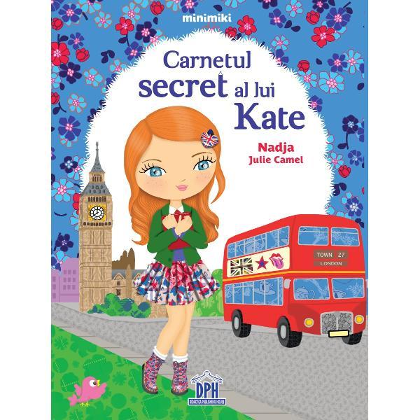 Kate locuie&537;te la Londra &537;i are un vis s&259; devin&259; scriitoare În fiecare zi ea inventeaz&259; pove&537;ti pe care i le spune celei mai bune prietene Dar când vrea s&259; scrie totul i se înv&259;lm&259;&537;e&537;te în cap Pân&259; în ziua în care în mâinile ei ajunge un carnet ciudat  Specifica&539;ii Vârst&259; 5 ani Pagini 32