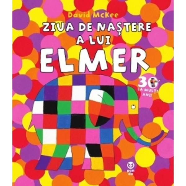 Elefan&539;ii vor s&259; îi fac&259; o fars&259; lui Elmer toate animalele trebuie s&259; se prefac&259; c&259; au uitat c&259; mâine este ziua lui Dar gluma nu are efectul a&537;teptat &537;i elefan&539;ii î&537;i dau seama c&259; ar fi trebuit s&259; asculte sfaturile primite de la prietenii lui ElmerO nou&259; poveste Elmer menit&259; s&259; celebreze cei 30 de ani de când prima sa aventur&259; a v&259;zut lumina tiparului Acesta