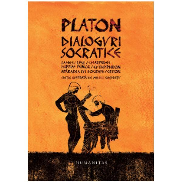 Cum poate fi oare povestit ce se întâmpl&259; în dialogurile acestea ale lui Platon numite dup&259; eroul lor socratice C&259;ci aparent aici nu se întâmpl&259; nimic La cap&259;tul fiec&259;rei înfrunt&259;ri care îi destram&259; partenerului de dialog — &351;i deopotriv&259; cititorului — iluzia c&259; ar &351;ti ceva despre tema aruncat&259; în discu&355;ie nu ne alegem cu nici un r&259;spuns Vedem în