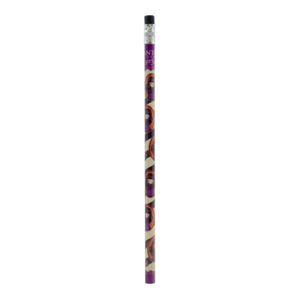 Creion parfumat Gorjuss Fiesta Cobwebs o varianta foarte practica de a-ti achizitiona cele mai frumoase rechizite din lumea Gorjuss Alege un creion parfumat cu personajul ei preferat&160;Dimensiuni 167x07x07 cmMaterial lemn
