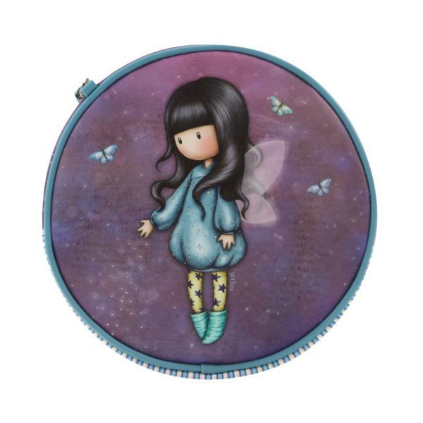 Geanta rotunda Gorjuss Bubble Fairy&160;o&160;gentuta practica foarte fashion pentru micuta ta Cu un design special aceasta gentuta ar fi cadoul perfect pentru o vara plina de aventuriDimensiuni 22x22x7 cmExterior 100 PoliuretanCaptuseala 100 Poliester