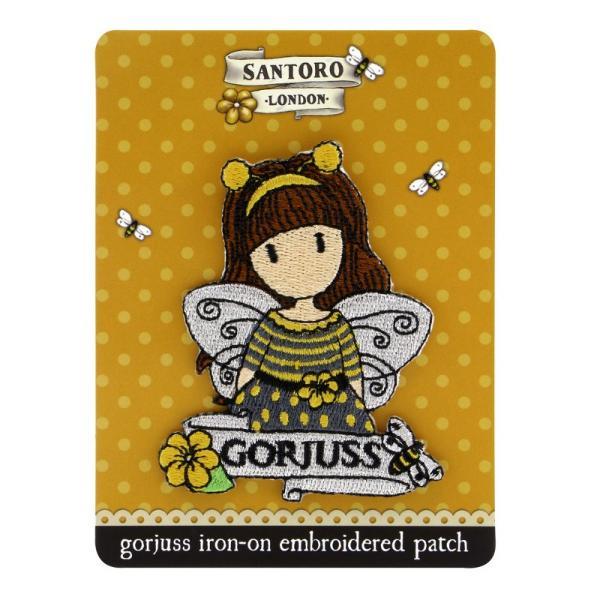 Ecuson brodat Gorjuss Bee Loved cea mai practica si cea mai usoara metoda de a-ti accesoriza tricoul preferat cu o fetita GorjussDimensiuni 75 x 6 cmMaterial Textil