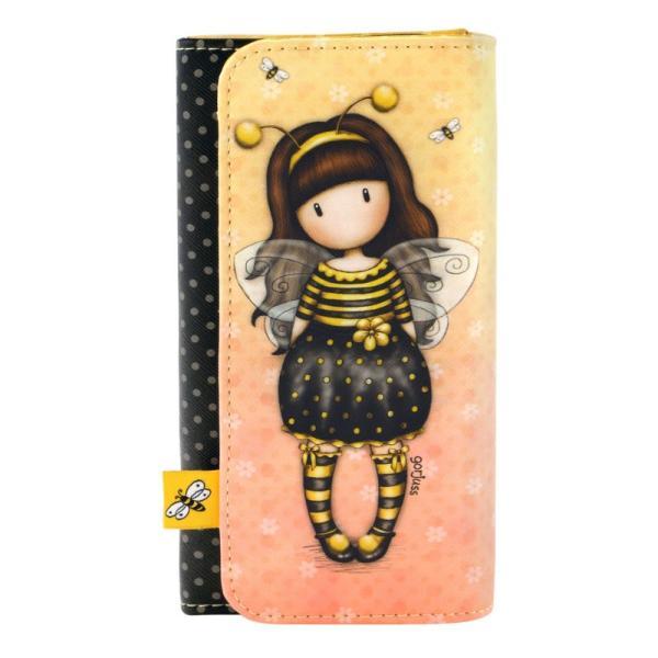 Portofel lung Gorjuss Bee Loved un portofel elegant si sofisticat pentru orice ocazie Portofelul este esential pentru orice geanta&160;6 compartimente pentru carduri1 compartiment special cu fermoarDimensiuni 10x19x25 cmTip inchidere capsaMaterial piele ecologica