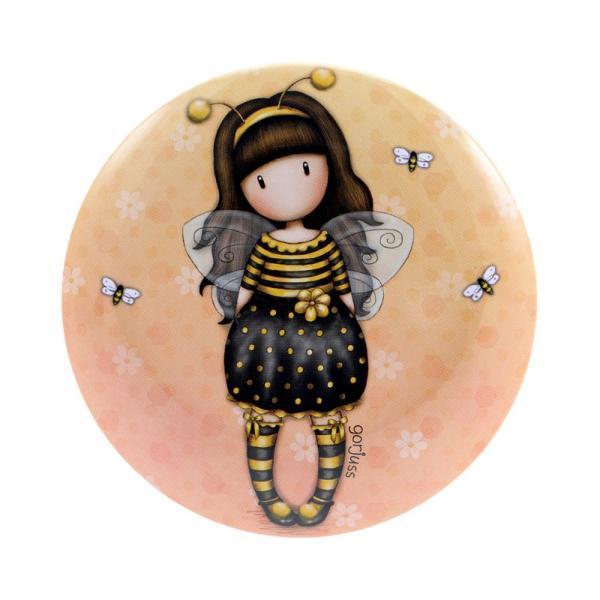 Cutie metalica de depozitare Gorjuss Bee Loved este o cutie perfecta pentru a-ti pastra in ordine cele mai frumoase bijuterii sau accesorii de mici dimensiuni&160;Dimensiuni cutie 95x6&160;cm