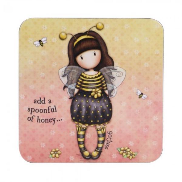 Suport pahar Gorjuss Bee Loved un mod foarte practic si delicat de a-ti proteja mobila din bucatarie sau casa&160;Material plutaDimensiuni 10x10x05 cm