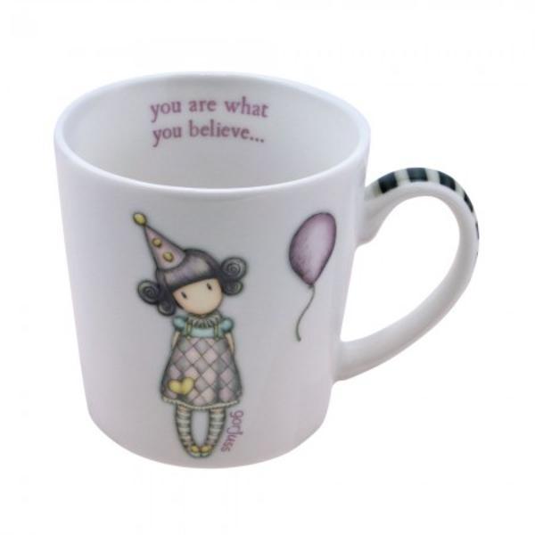 Cana mica Gorjuss Pierrot&160;o cana adorabila de portelan cu micuta Pierrot un mic bufon Cu un decor de poveste in culori pale nuante perfecte de verde roz si lila cu manerul in dungi albe cu negru aceasta canuta este potrivita pentru orice moment al zilei&160;Material portelan&160;Capacitate 250 mlDimensiuni&160;8 cm x 8 cm diamentrul