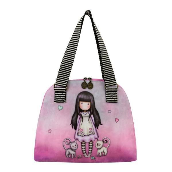 Geanta cu barete textile Gorjuss Tall Tails potrivita pentru orice tinuta aceasta geanta este ideala pentru cumparaturi pentru week-end scoala sau munca&160;A se curata cu o carpa moale si umedaDimensiuni 38x32x6 cmExterior piele ecologicaCaptuseala 100 Poliester