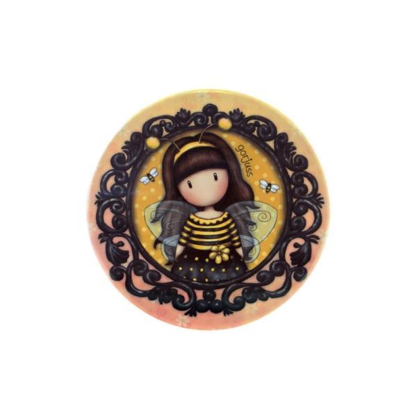 Cutie metalica rotunda mica Gorjuss Bee Loved o cutiuta magica pentru casa taDimensiuni&160;65x65x45 cm