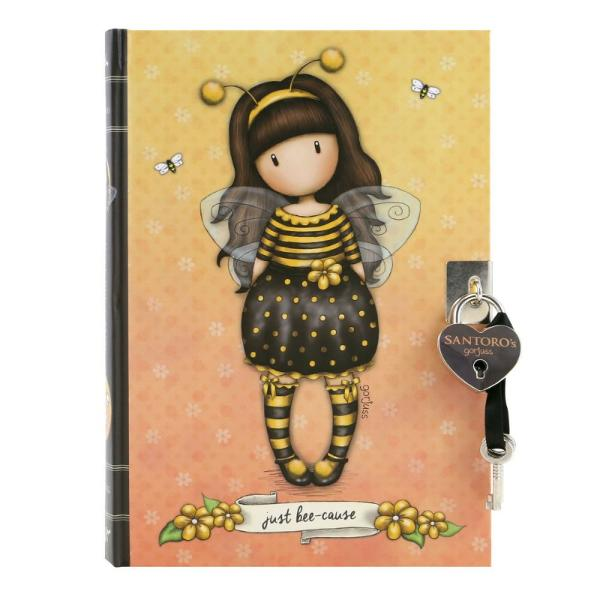 Jurnal cu cheita Gorjuss Bee Loved un jurnal secret pentru tine sau micuta ta Alege acest jurnal cu cheita pentu cele mai frumoase momente din viata ta frumos asternute in cele 240 pagini liniate dictando Albinutele se regasesc pe fiecare pagina a jurnalului&160;