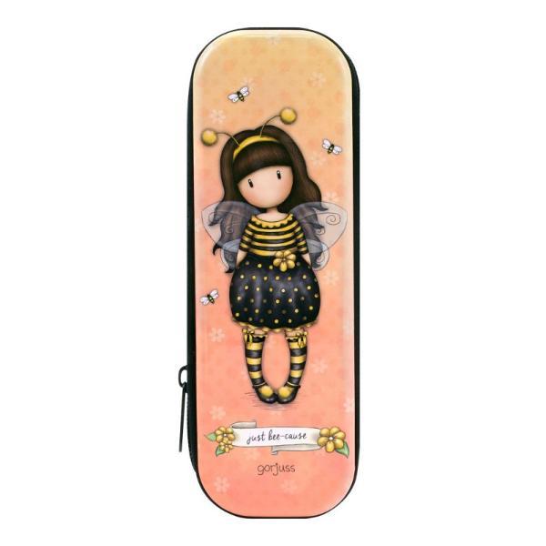 Cutie metalica cu fermoar Gorjuss Bee Loved un accesoriu perfect pentru scoala sau acasa ce poate fi utilizat pe post de etui sau penarDimensiuni 185 x 75 x 35 cmMaterial MetalSistem de inchidere cu fermoar negru