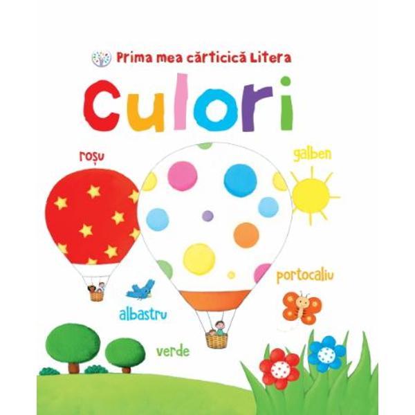 &206;n aceast&259; c&259;rticic&259; frumos ilustrat&259; copiii vor descoperi &537;i vor &238;nv&259;&539;a primele lucruri despre culori