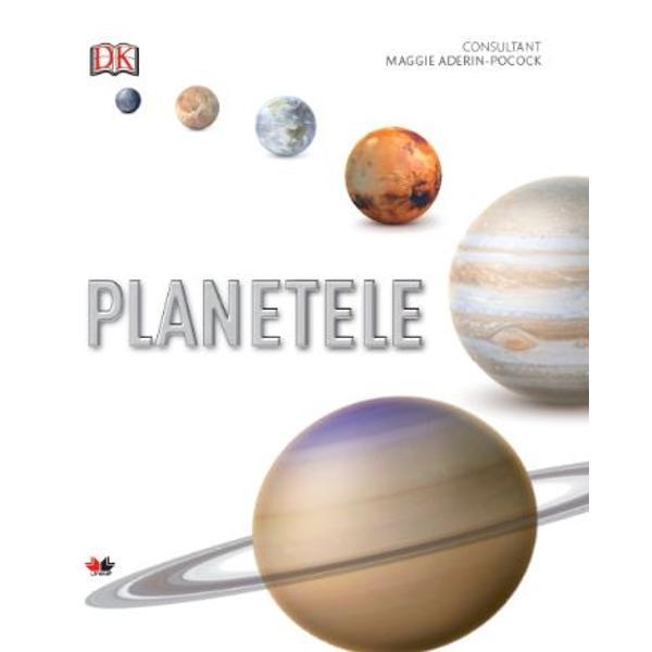 Exploreaza peisajele vulcanice de pe Venus dunele de pe Marte necuprinsele adâncuri de pe Jupiter si alte minuni ale sistemului solar Imagini de o uimitoare claritate si harti decea mai mare acuratete dezvaluie fiecare planeta si fiecare satelit major în detalii fascinante de la atmosfera la nucleu Bazat pe descoperiri si date de la NASA volumul Planetele te poarta într-o calatorie incredibila prin lumi care provoaca imaginatia
