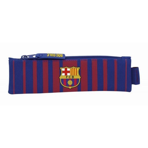Mini penar FC BarcelonaMini penar FC Barcelona&160;este este compus dintr-un singur compartiment inchis cu fermoar manerul fermoarului exterior&160;este cauciucat si lung facand usoara manevrarea acestuia Un penar ideal pentru scoala sau gradinitaDimensiuni 20x6x1 cm