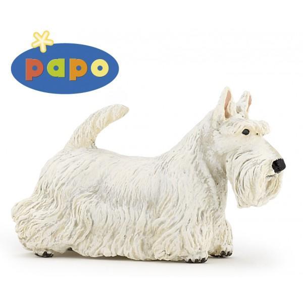 Figurina Papo-Caine Scottish TerrierJucarie educationala realizata manual excelent pictata si poate fi