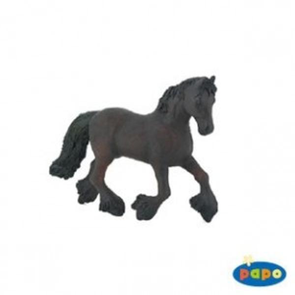 Figurina Papo - Cal frisianJucarie educationala realizata manual excelent pictata si poate fi colectionata de catre copii sau adaugata la seturile de joaca cum ar fi rase de cai etcUn