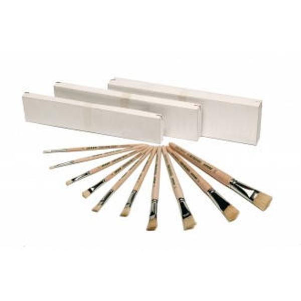 Pensula tesita JOLLY nr12 Fabricata din par natural Imagine de prezentare-generala Produs de JOLLY-Austria