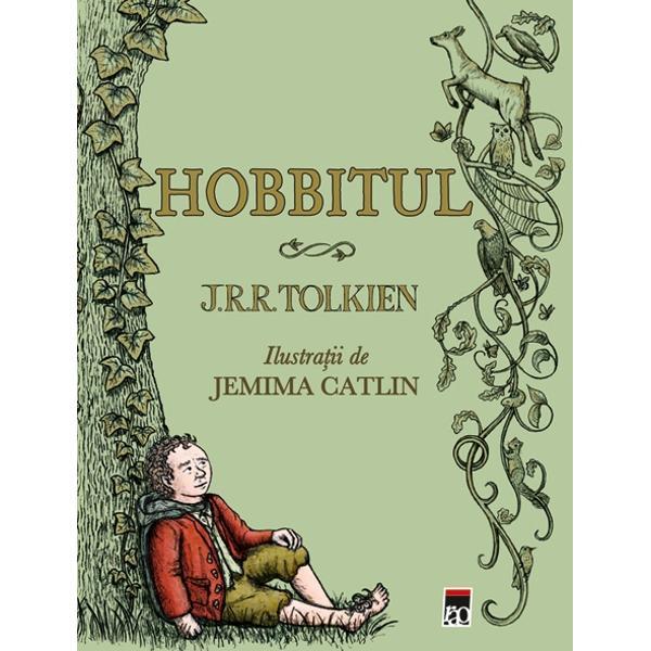 Bilbo Baggins duce o via&355;&259; confortabil&259; lipsit&259; de mari ambi&355;iirareori f&259;când drumuri mai lungi decât cele pân&259; în c&259;mara lui Darlini&351;tea îi este deranjat&259; de apari&355;ia vr&259;jitorului Gandalf înso&355;it detreisprezece gnomiAce&351;tia vor ca el s&259; îi înso&355;easc&259; într-o c&259;l&259;torie s&259;-i ajute