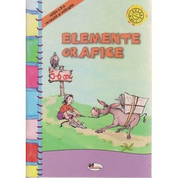 Elemente grafice 5-6 ani cu Rita si Greierasul